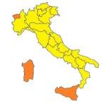 Covid: nessuna Regione rossa e solo 3 arancioni
