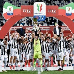 Coppa Italia alla Juve che batte l'Atalanta e forse salva Pirlo