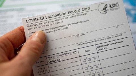 Vaccini, falsi certificati sul darkweb: costano 100 euro