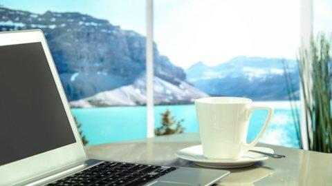 Smart working in montagna: Airbnb e il Trentino lanciano concorso