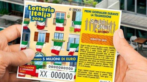 Lotteria Italia, biglietti e incassi in picchiata
