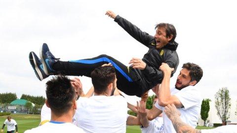 Inter in festa, Napoli e Lazio si giocano la Champions