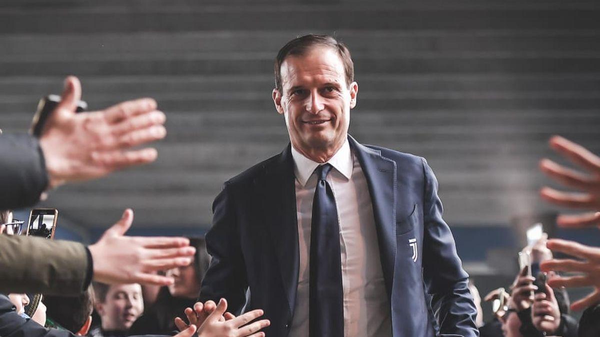 Allegri allenatore Juventus