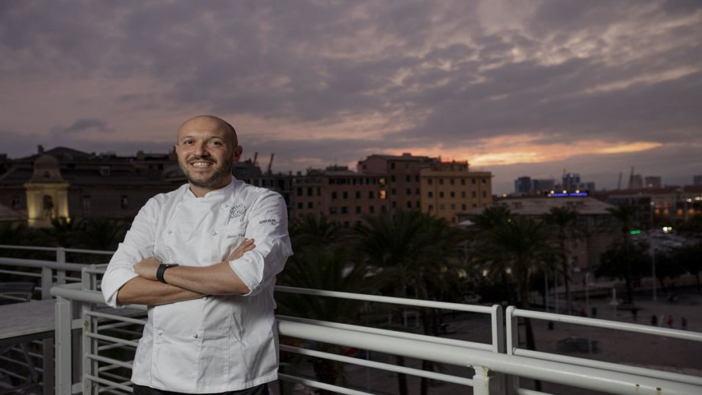 Marco Visciola chef ristorante Il Marin a Eataly di Gerova