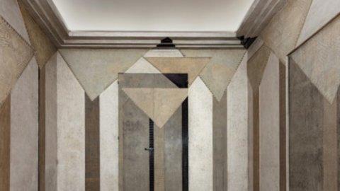 "Design: Phillips Auction presenta a Londra l'eccezionale ""Les Palmiers- smoking room"" di Jean Dunand"