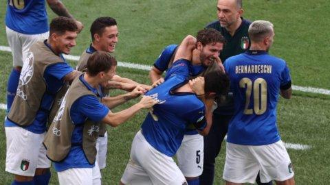 Europei, l'Italia bis non incanta ma vince: primi nel girone