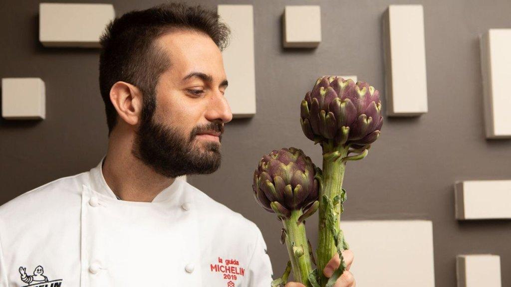 Andrea Pasqualucci Chef* del Moma Roma