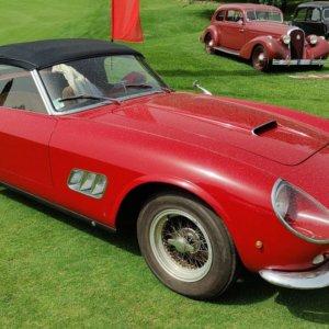REB Concours a Roma, la regina è la Ferrari California