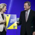Recovery, von der Leyen consegna a Draghi la pagella di promozione