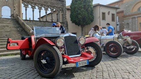 Auto d'epoca, al raid degli Etruschi trionfa il made in Italy