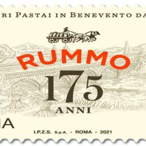 Pasta Rummo: un francobollo di Poste Italiane per i 175 anni dell'azienda