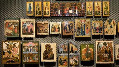 Alle Gallerie d'Italia (Vicenza) un nuovo allestimento per la collezione di icone russe di Intesa Sanpaolo