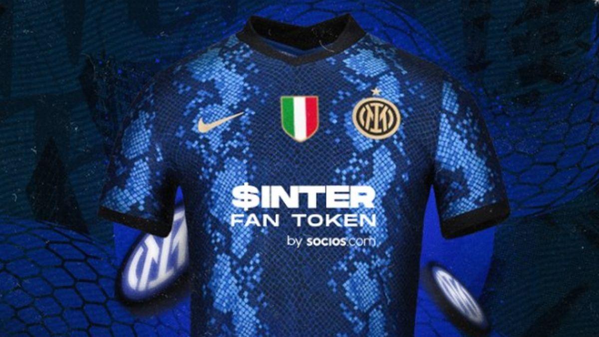 Inter tra calcio e blockchain: ecco il nuovo sponsor sulla maglia