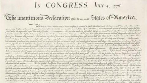 ACCADDE OGGI – La Dichiarazione d'Indipendenza battezza gli Stati Uniti