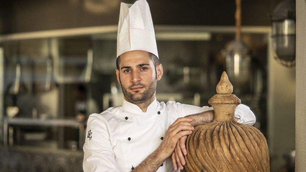 Chef Giuseppe Biuso ristorante Il Cappero stella Michelin