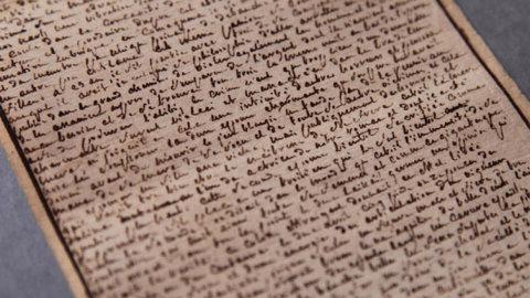 """Il manoscritto """"Le centoventi giornate di Sodoma"""" del Marchese de Sade, acquisito dallo Stato francese"""