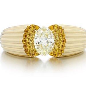 Sotheby's Diamond: bracciale con diamante giallo di Lily Gabriella