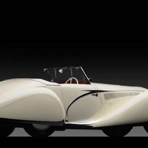 Auto d'Epoca: Talbot-Lago T150-C SS Cabriolet Figoni Falaschi (la sua storia)