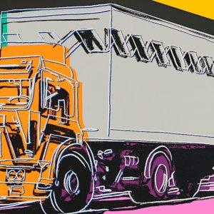 "Andy Warhol: ""Trucks Series"" in vendita online da Christie's Londra"