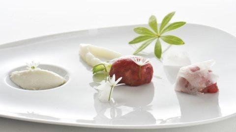 La ricetta dello chef Alessandro Gilmozzi: l'umile Ciuiga riscattata e stellata