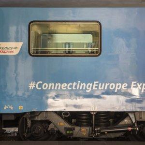 Fs, il treno europeo fa tappa a Roma