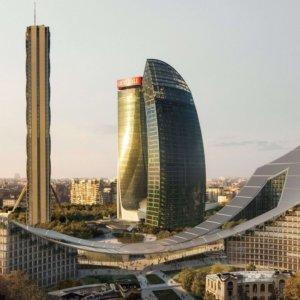 """CityLife Milano, ecco la quarta """"torre"""": è orizzontale"""