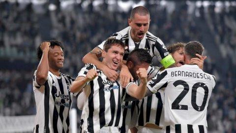 Champions, Juve e Atalanta: notte magica con doppia vittoria