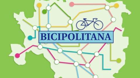 Milano green: spunta il progetto della Bicipolitana, metrò delle bici