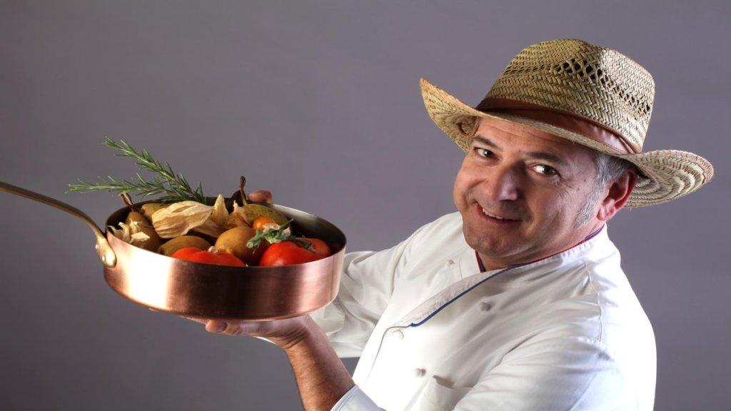 Chef Walter Ferretto stella Michelin Asti