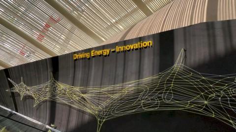 """Expo 2020 Dubai, ecco """"Driving Energy"""" un'opera lunga 60 metri"""