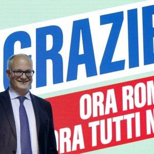 Ballottaggi: Gualtieri stravince a Roma, centrosinistra ok anche a Torino e Varese