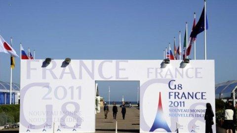 Le Borse guardano al vertice G-8 di Deauville