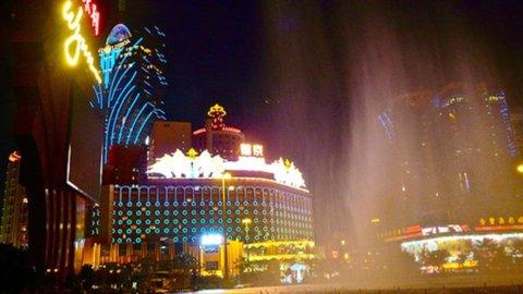 La crisi economica non ha frenato l'ascesa di Macao come capitale mondiale del gioco d'azzardo