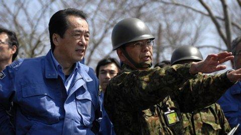 Il primo ministro giapponese Naoto Kan passerà la mano non appena la crisi nucleare sarà risolta