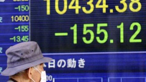 Borsa, Tokyo chiude in rosso