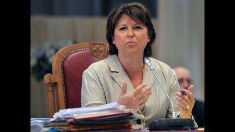 Francia, Martine Aubry in lizza per le primarie