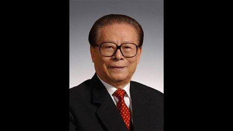 Si rincorrono le voci sulla morte di Jiang Zeming, ex presidente cinese