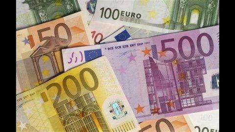 Istat, conti pubblici: deficit-Pil III trimestre al 2,7%, il migliore dal 2008