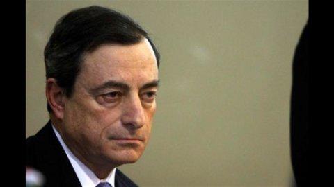 Draghi: banche solide, manovra passo importante verso il risanamento