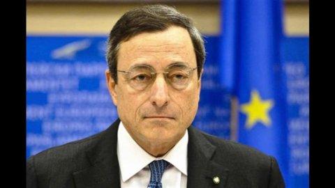"""Draghi: """"Senza altri tagli è inevitabile l'aumento delle tasse"""""""
