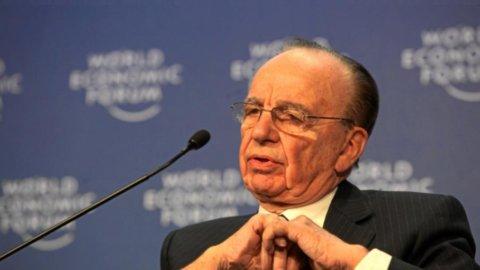 Murdoch, la News Corporation crolla sulla Borsa di Sidney (-4,13%)