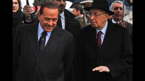 Berlusconi al Quirinale per parlare di economia e del successore di Alfano alla Giustizia