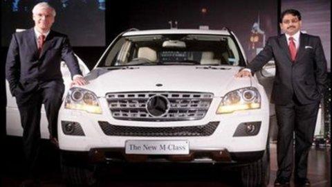Auto di lusso: Mercedes perde terreno