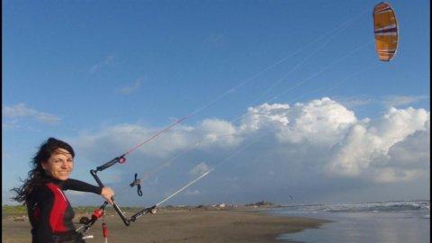Turismo, spopolano le nuove mete del kitesurf