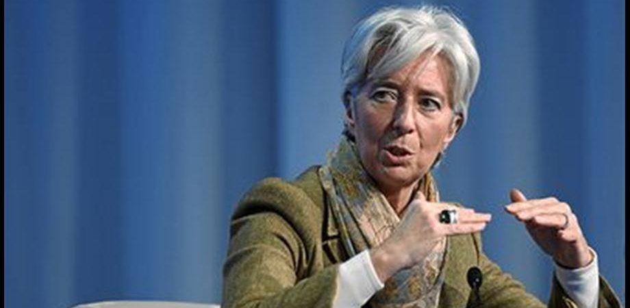 """Fmi, Lagarde: """"Non sacrifichiamo la crescita economica alla lotta contro il debito pubblico"""""""