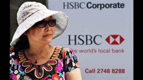 Hsbc taglierà 30.000 posti di lavoro in due anni