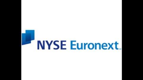 Nyse Euronext: in calo l'utile netto, pesa la fusione con Deutsche Boerse