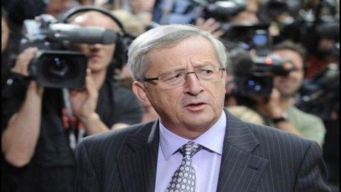 Juncker: l'Italia ha ritrovato la ragione