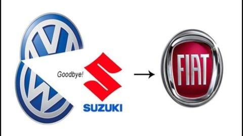 Suzuki in crisi con Volkswagen strizza l'occhio a Fiat