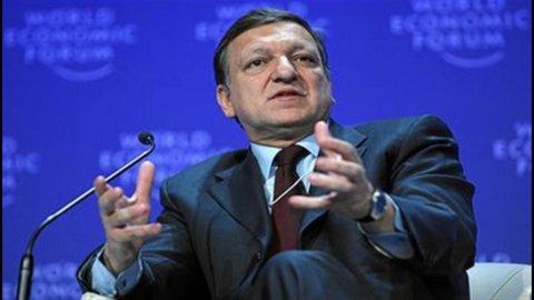 Ue, Barroso boccia proposta franco-tedesca su governo economico